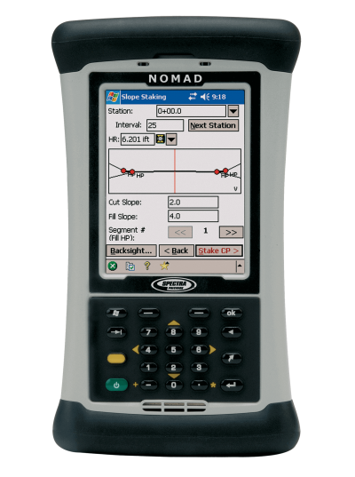 Spectra Precision Nomad 900 фото